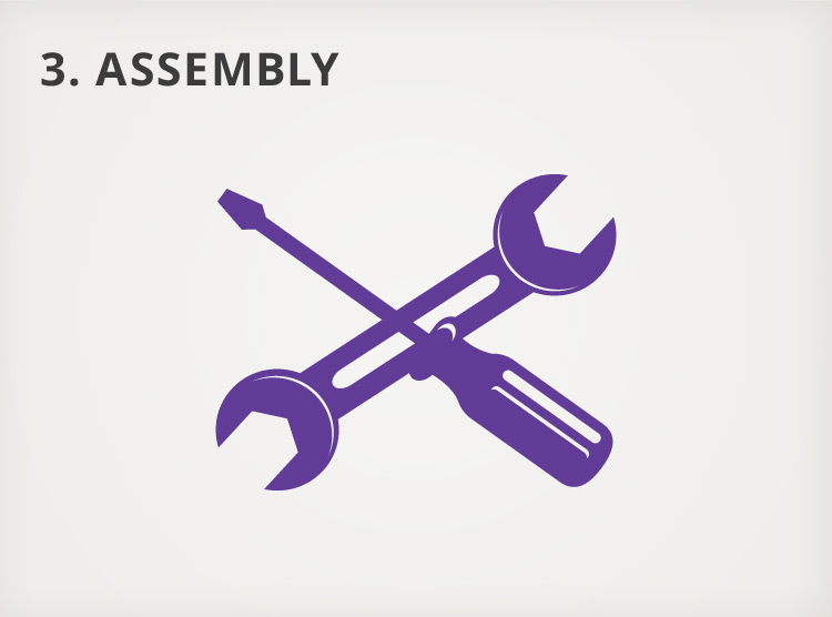 Our Process - Step 3: Assembly